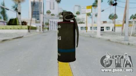 GTA 5 Tear Gas para GTA San Andreas segunda pantalla
