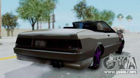 Cadrona Cabrio JDM para GTA San Andreas left