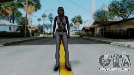 Resident Evil 4 Ultimate HD - Ashley Leather para GTA San Andreas segunda pantalla