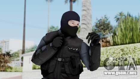 GTA 5 S.W.A.T. Police para GTA San Andreas