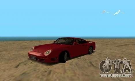 Porsche 959 para GTA San Andreas