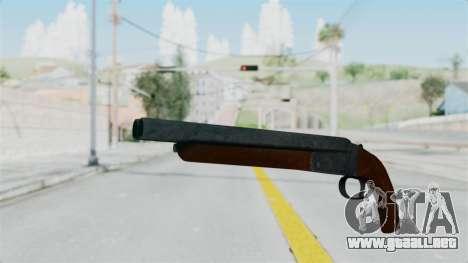Double Barrel Shotgun from Lowriders CC para GTA San Andreas