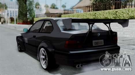 BMW M3 E36 Widebody para GTA San Andreas left