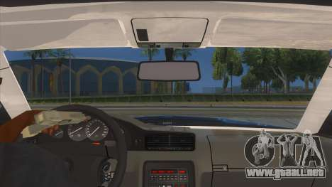 BMW 850i E31 para visión interna GTA San Andreas