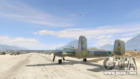 GTA 5 B-25 tercera captura de pantalla