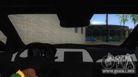 Iranian Hyundai Sonata Turbo para visión interna GTA San Andreas
