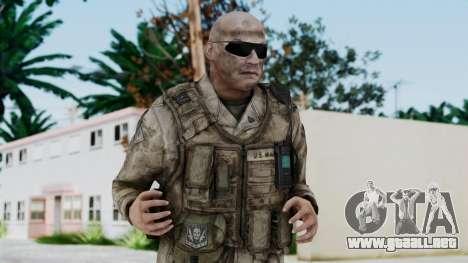 Crysis 2 US Soldier FaceB Bodygroup A para GTA San Andreas