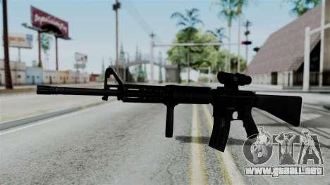 No More Room in Hell - M16A4 ACOG para GTA San Andreas segunda pantalla