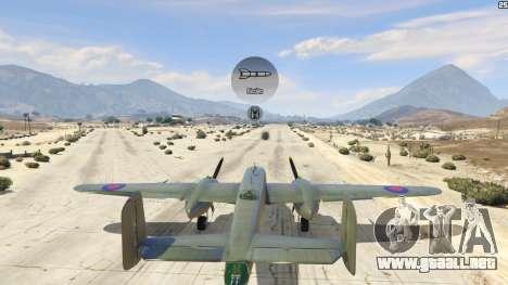 GTA 5 B-25 sexta captura de pantalla