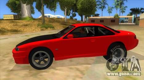 Nissan Silvia S14 Drag para GTA San Andreas left