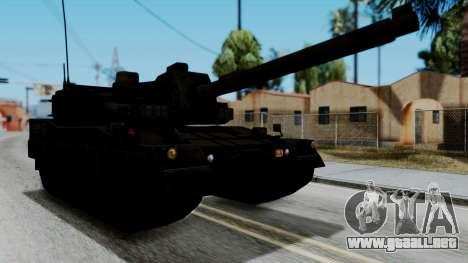 Point Blank Black Panther Woodland para GTA San Andreas vista posterior izquierda
