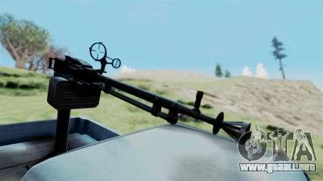GTA 5 Karin Technical Machinegun IVF para la visión correcta GTA San Andreas