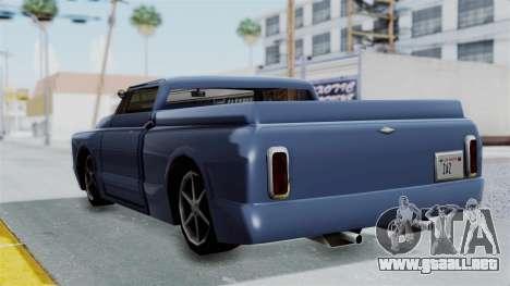 Aumentada. para la visión correcta GTA San Andreas