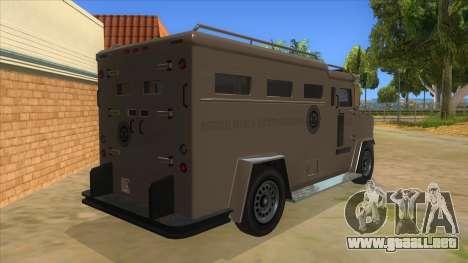 GTA 5 Brute Riot Police para la visión correcta GTA San Andreas