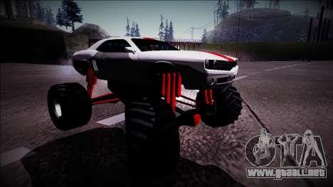 GTA 5 Bravado Gauntlet Monster Truck para la visión correcta GTA San Andreas