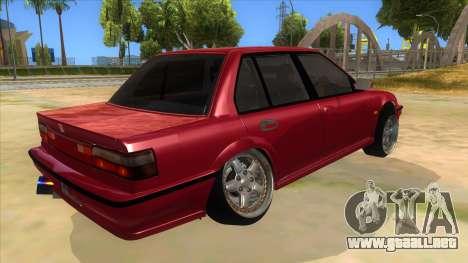 Honda Civic Ef Sedan para la visión correcta GTA San Andreas