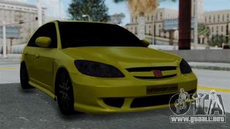 Honda Accord Vtec2 Stock para GTA San Andreas