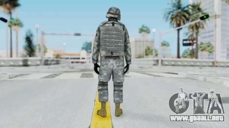 Acu Soldier Balaclava v4 para GTA San Andreas tercera pantalla