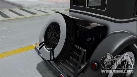 GTA 5 Albany Roosevelt Valor para GTA San Andreas vista hacia atrás