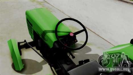 Torpedo Traktor para GTA San Andreas vista posterior izquierda
