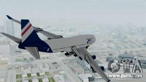 GTA 5 Jumbo Jet v1.0 Air Herler para la visión correcta GTA San Andreas