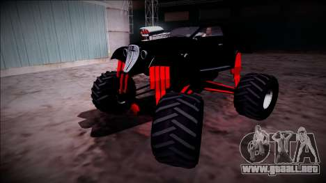GTA 5 Hotknife Monster Truck para la vista superior GTA San Andreas