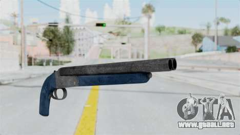 Double Barrel Shotgun LSPD Tint (Lowriders CC) para GTA San Andreas
