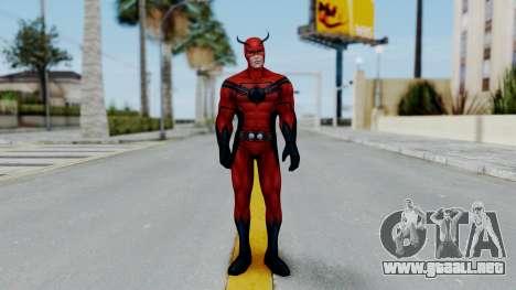 Marvel Future Fight - Giant Man para GTA San Andreas segunda pantalla