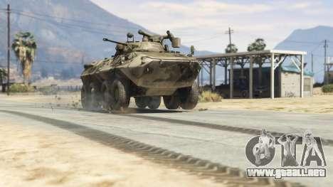 GTA 5 BTR-90 Rostok vista trasera