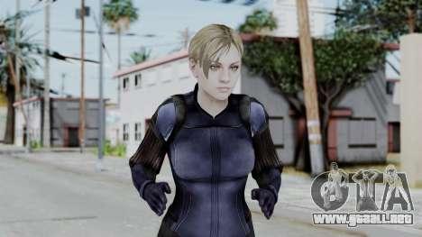 Jill Valentine Battlesuit Closed RE5 para GTA San Andreas