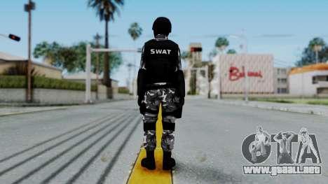 S.W.A.T v1 para GTA San Andreas tercera pantalla