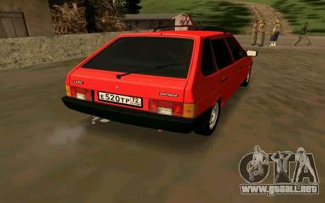2109 Formación para GTA San Andreas left