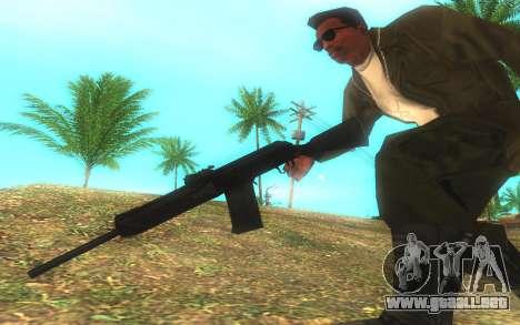 Saiga-12 Calibre para GTA San Andreas tercera pantalla