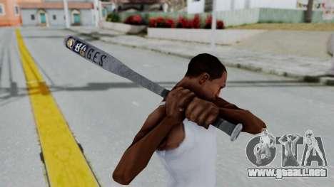 GTA 5 Baseball Bat 6 para GTA San Andreas tercera pantalla