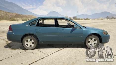 GTA 5 Chevrolet Impala vista lateral izquierda