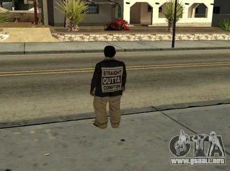ballas3 [straight outta Compton] para GTA San Andreas segunda pantalla