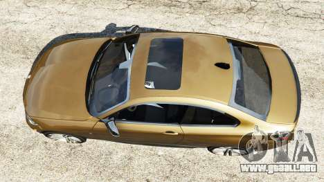 GTA 5 BMW M235i Coupe vista trasera