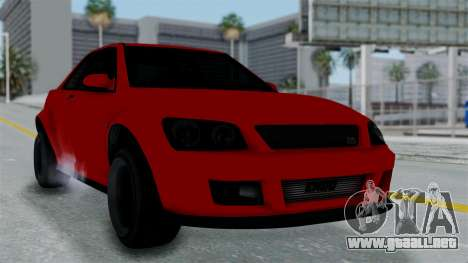 GTA 5 Karin Sultan RS Stock PJ para GTA San Andreas