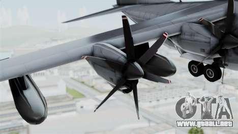 KC-130J Harvest Hawk para la visión correcta GTA San Andreas