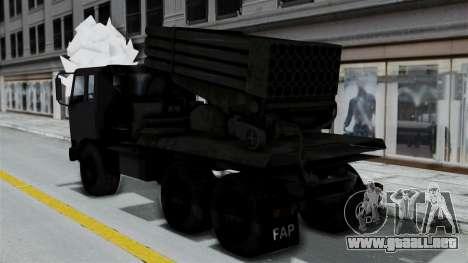 FAP Vojno Vozilo para GTA San Andreas left