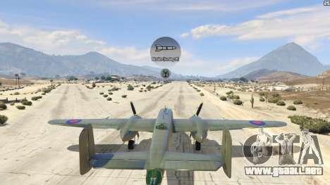 GTA 5 B-25 cuarto captura de pantalla