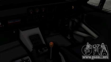 Nissan Skyline 2000GTR Speedhunters Edition para la visión correcta GTA San Andreas