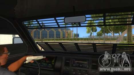 GTA 5 Burrito Transport para visión interna GTA San Andreas