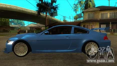 BMW M6 Full Tuning para GTA San Andreas left
