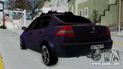Renault Megane II para GTA San Andreas left