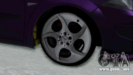 Renault Megane II para GTA San Andreas vista posterior izquierda