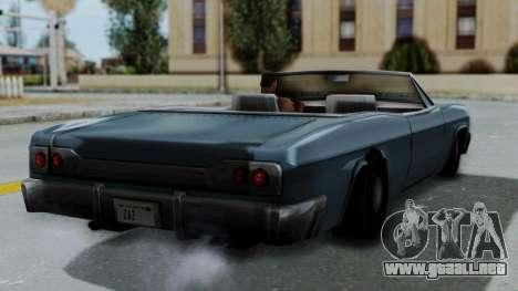 Blade Beach Bug para GTA San Andreas left