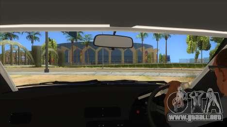 Nissan S13 Zenki para visión interna GTA San Andreas