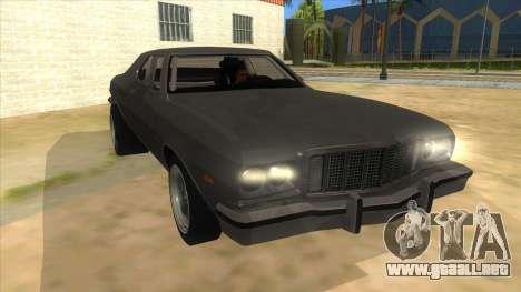 Ford Gran Torino Drag para GTA San Andreas vista hacia atrás
