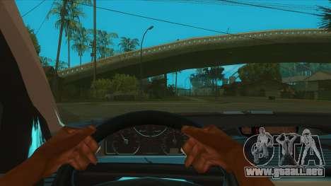 Renault Laguna Mk2 Superior Automático De Veloci para visión interna GTA San Andreas